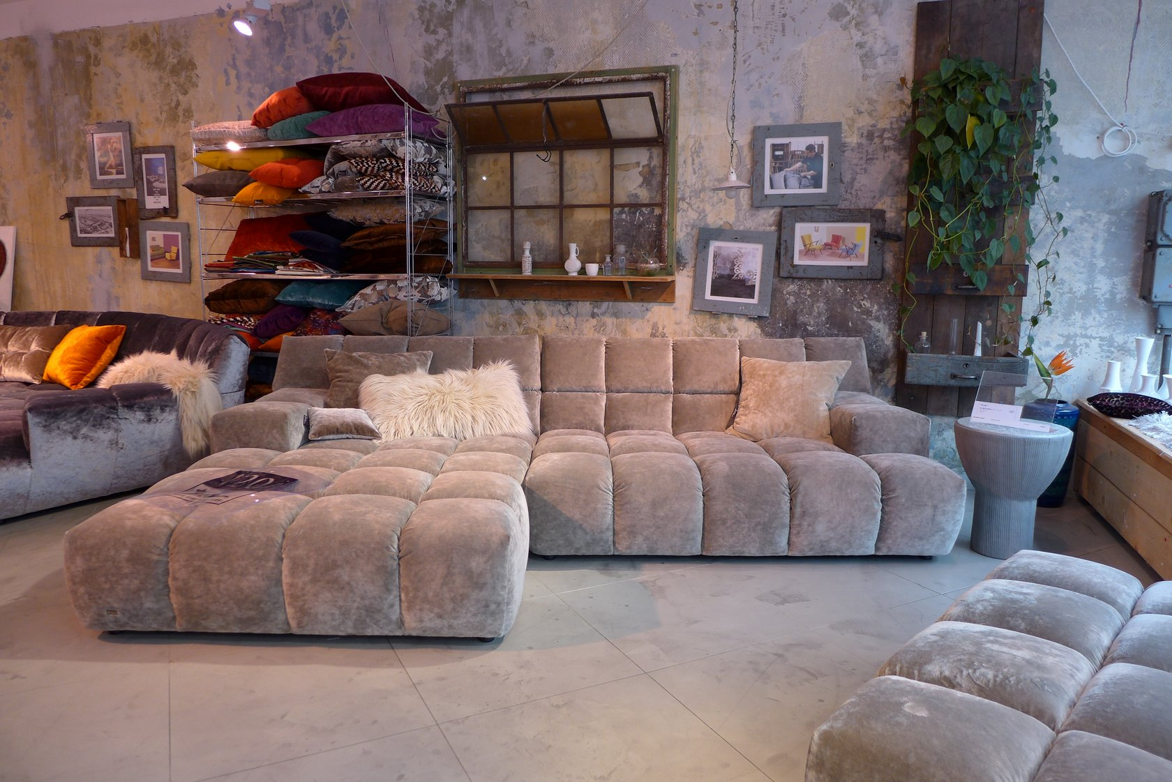 bretz sofa outlet corner sofa chocolat collection by bretz wohntrume design bretz brothers. Black Bedroom Furniture Sets. Home Design Ideas